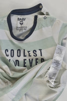 Cotton On Baby Size 2 'Coolest Kid Ever' T-shirt