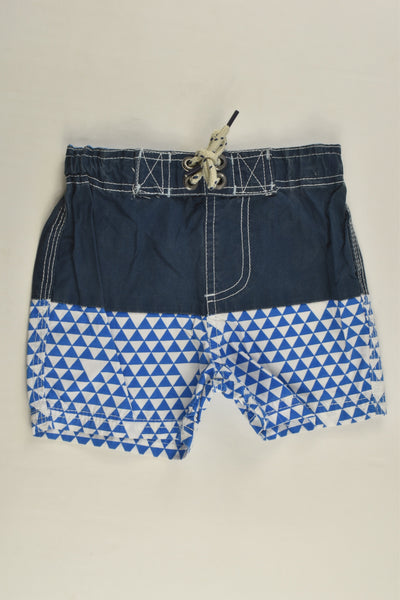 Cotton On Kids Size 1 'Isla Sola' Board Shorts