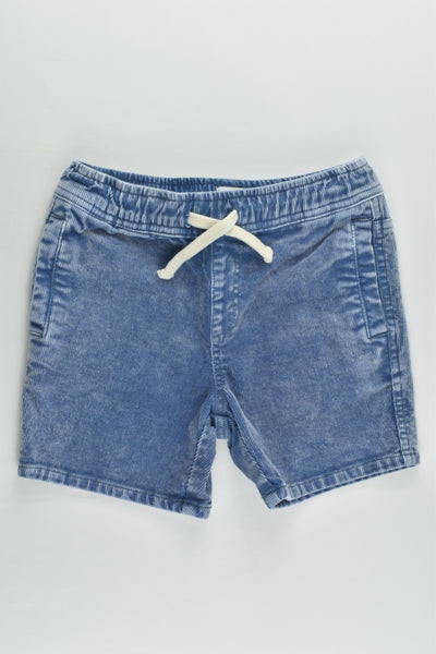 Cotton On Kids Size 4 Stretchy Cord Shorts