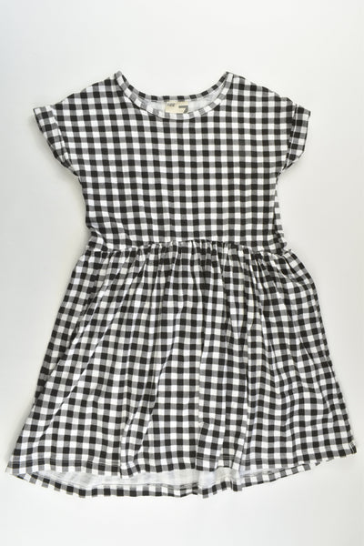 Cotton On Kids Size 7 Checked Dress