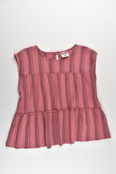 Cotton On Kids Size 9-10 Striped Blouse