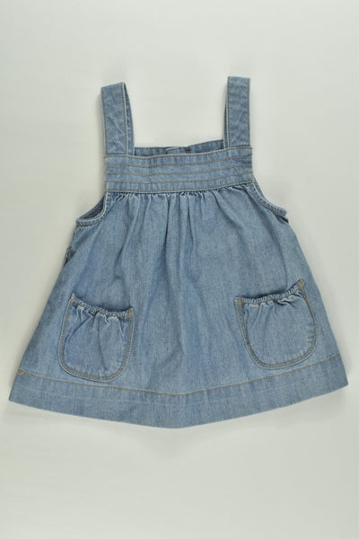Country Road Size 00 Denim Dress