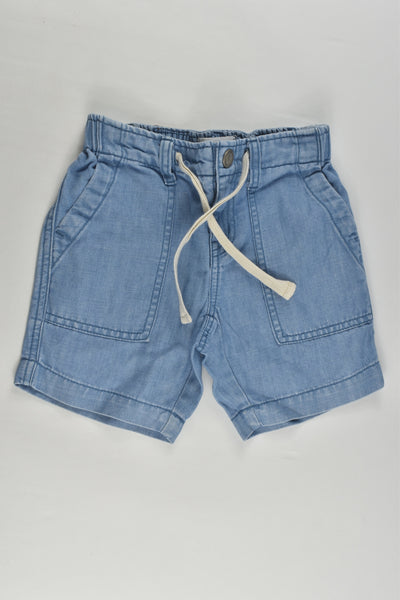 Country Road Size 3 Lightweight Cotton/Linen Denim Shorts