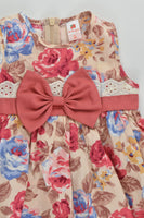 De Berry (Thailand) Size 2 Roses Dress