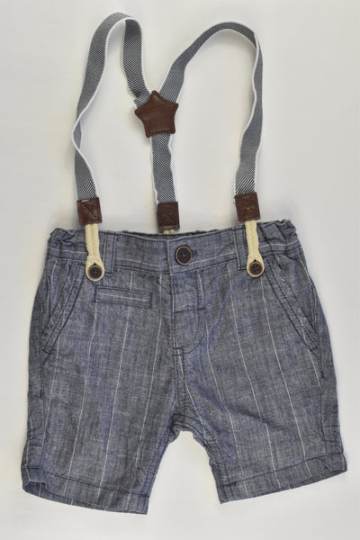 Dymples Size 00 Suspender Shorts