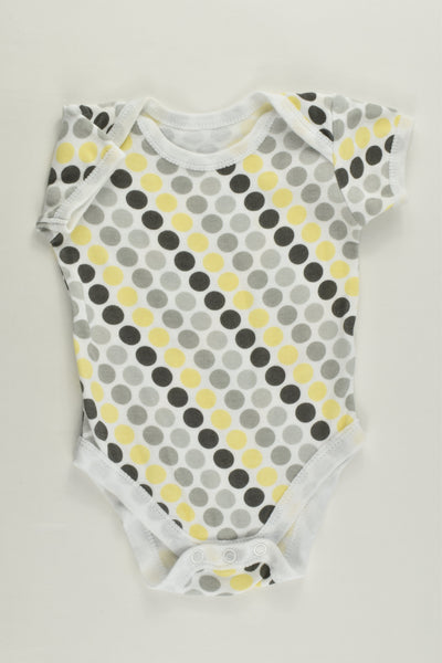 Early Days Size 000 (0-3 months) Dots Bodysuit