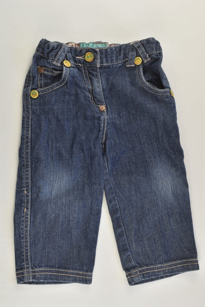 Elle Size 0 (12 months) Denim Pants