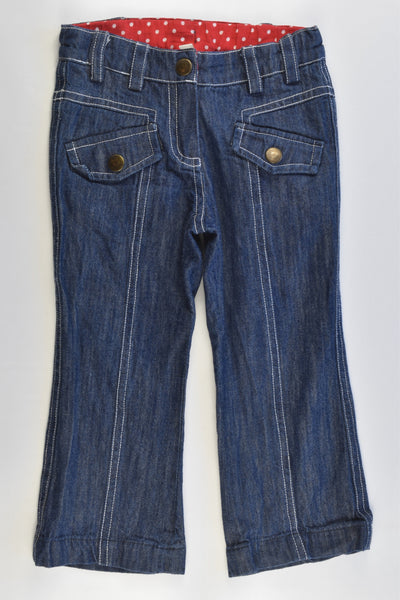 Eternal Creation Size 2 Soft and Stretchy Denim Pants
