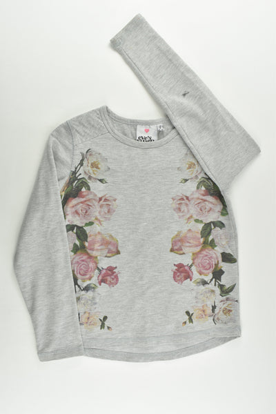 Eve's Sister Size 7 Roses Sweater