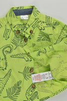 F&F Size 000 (Up to 3 months, 62 cm) Crocodile Collared Shirt