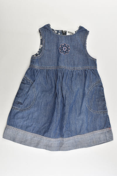 Fix by Lindex (Sweden) Size 2 (92 cm) Lightweight Denim Dress