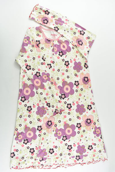 Fixoni (Denmark) Size 12 (152 cm) Retro Flowers Nightie