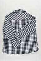 Fred Bare Size 4 Checked Collared Shirt