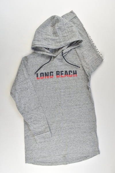 Free by Cotton On Size 9 'Long Beach' Hooded Top