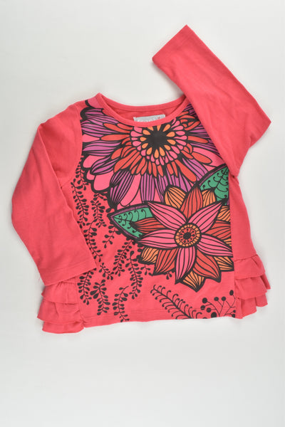 Fresh Baked (AU) Size 3 Floral Top