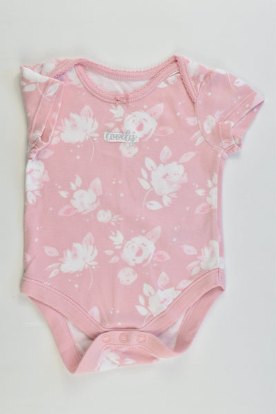 George Size 00 (3-6 months, 62-68 cm) 'Lovely' Bodysuit