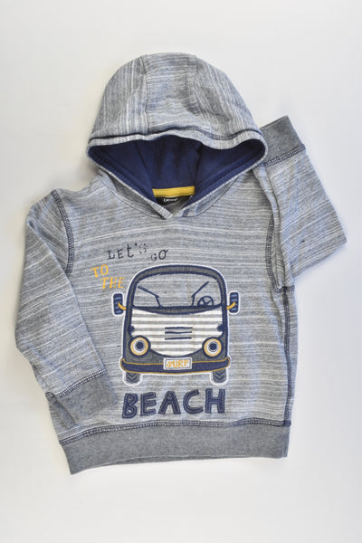 George Size 1-2 (86-92 cm) Beach Car Hooded Jumper