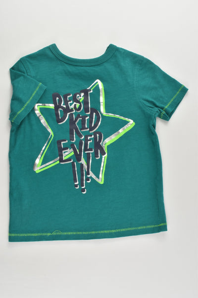 George Size 3-4 (98-104 cm) 'Best Kid Ever' T-shirt