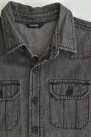 George Size 7-8 Casual Collared Denim Shirt