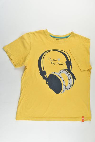 Giordano Junior Size 10-11 (140 cm) 'I Love Pop Music' T-shirt