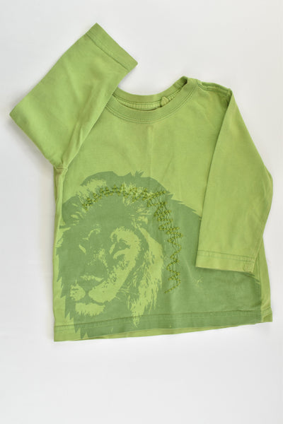 Greensourse Size 1 Lion Top