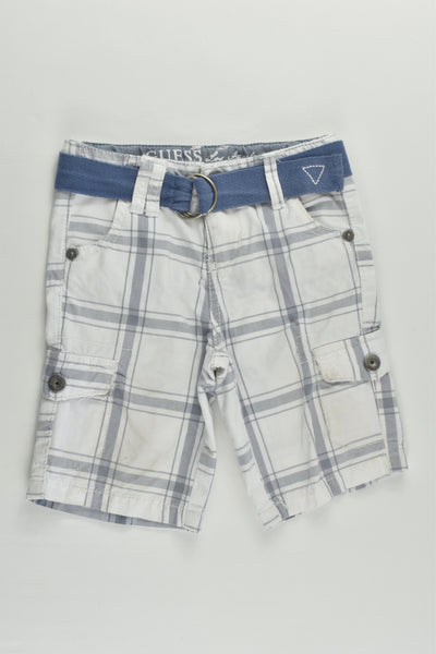 Guess Size 0 (12 months) Checked Shorts