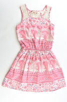 Gum Size 8 Lined Elephant Dress