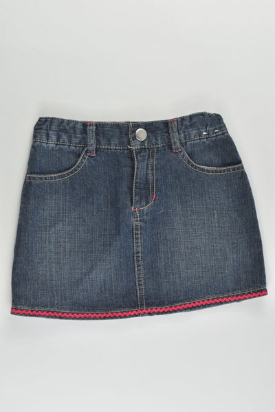 Gymboree Size 4 Denim Skirt