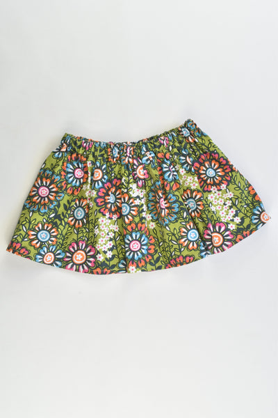 Hand Made Size 1 Floral Skirt