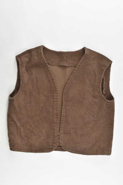 Hand Made Size approx 3-4 Cord Vest