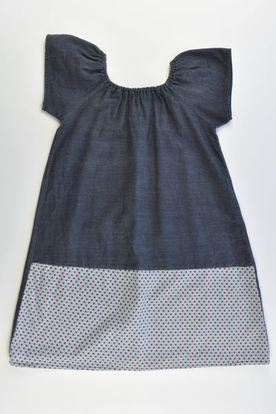 Handmade (?) Size 3 Lightweight Denim Dress