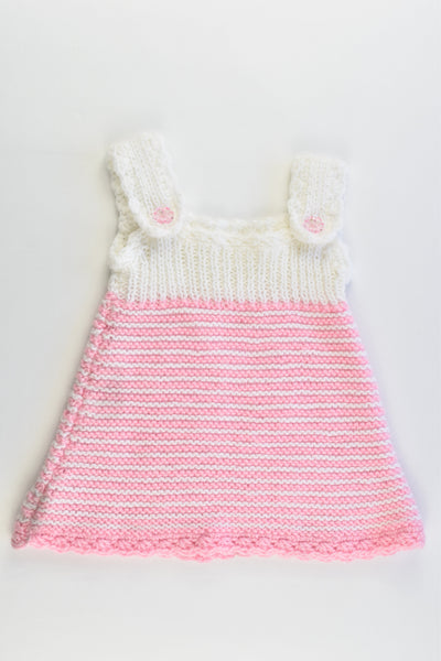 Handmade Size approx 0 Knitted Dress