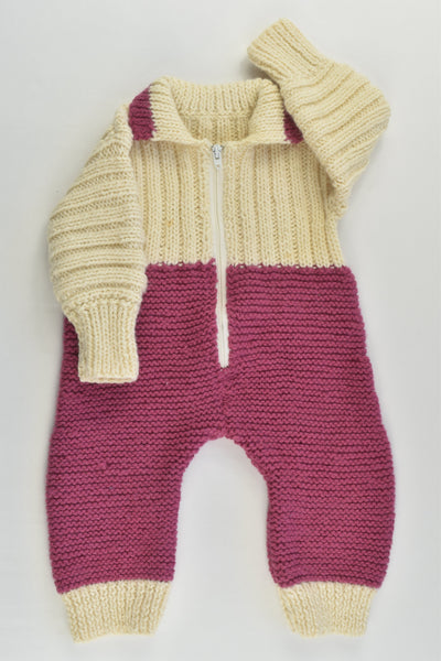Handmade Size approx 000 Warm and Thick Wool Onesie