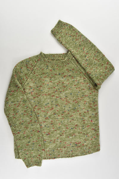 Handmade Size approx 4-5 Knitted Jumper