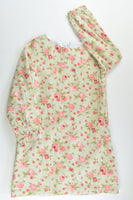 Handmade Size approx 5 Lined Roses Dress