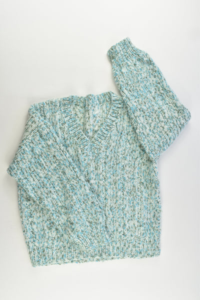 Handmade Size approx 6-8 Knitted Jumper