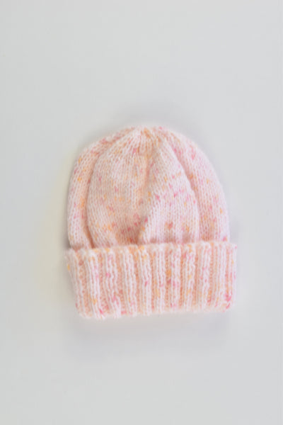 Handmade Size approx up to 1 year Knitted Beanie
