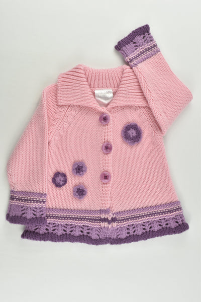 Happy Tots Size 1 (18 months) Knitted Cardigan