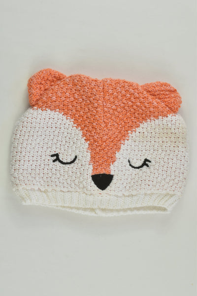 Higgledee Size 00 (0-6 months) Lined Fox Beanie