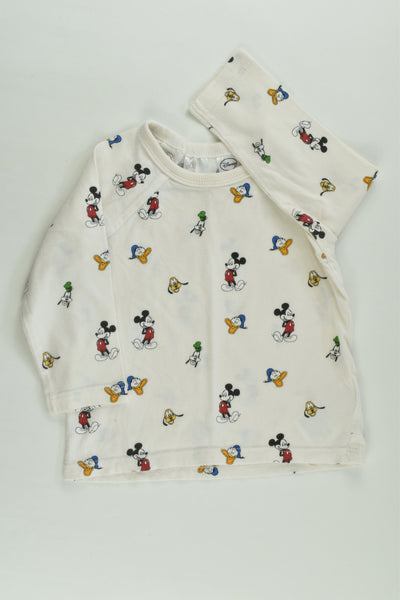 H&M Size 0 Mickey Mouse and more Top