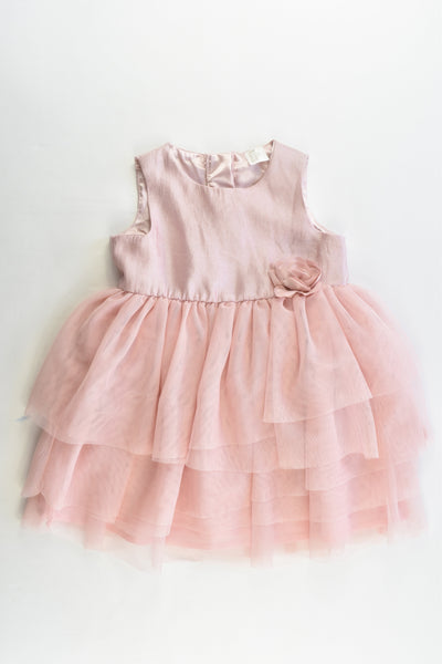 H&M Size 12-18 months (86 cm) Lined Party Dress
