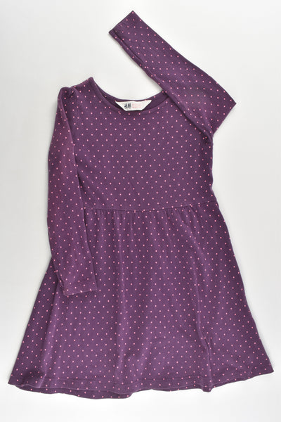 H&M Size 3-4 (98/104 cm) Dots Dress