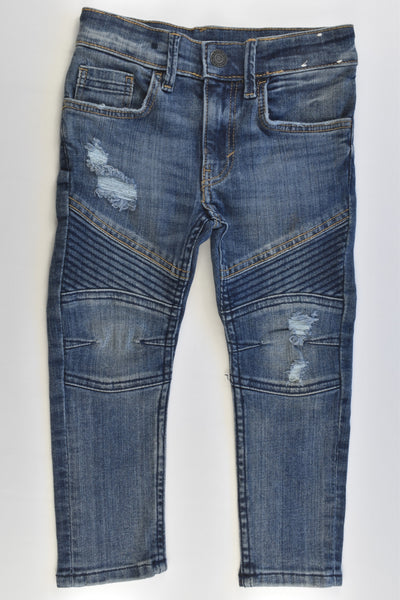 H&M Size 3 (98 cm) Skinny Fit Stretchy Denim Pants