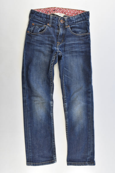 H&M Size 5-6 (116 cm) Stretchy Regular Waist, Slim Leg Denim Pants