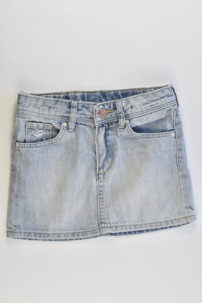H&M Size 6 (116 cm) Soft Denim Skirt