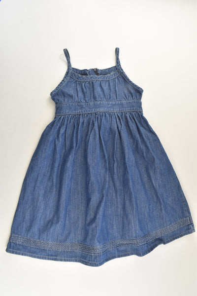 H&M Size 7-8 (128 cm) Denim Dress