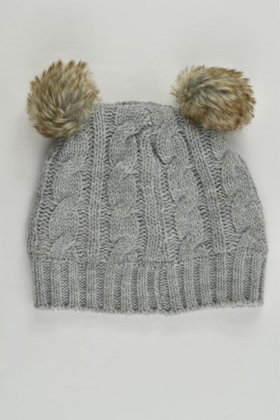 H&T Size 1-3 Fleece Lined Knitted Beanie
