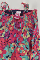 H+T Size 1 Floral Lined Dress