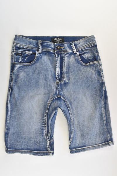 Indie Kids By Industrie Size 12 Stretchy Baggy Denim Shorts