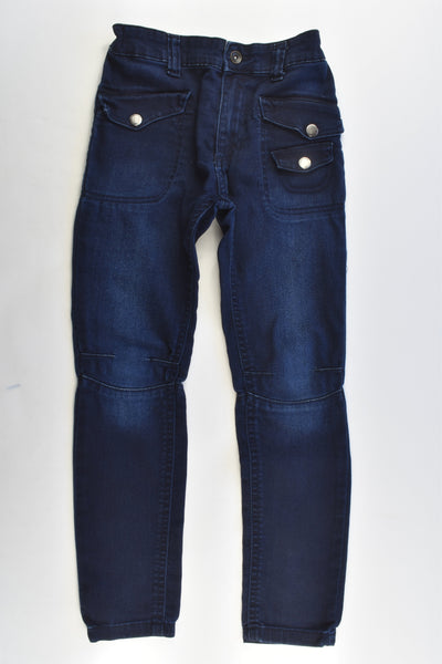 Indigo Collection by M&S Size 6-7 (122 cm) Stretchy Denim Pants
